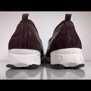 Ermanno Scervino Shoes - Ermanno Scervino Snakeskin Effect Italian Sneakers